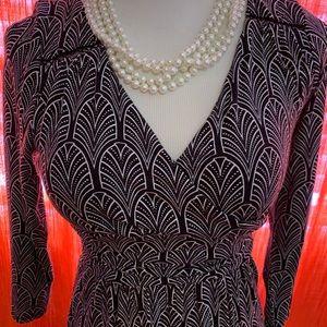 Anthropologie Dresses - Anthropologie Maeve patterned midi Dress Sz Small
